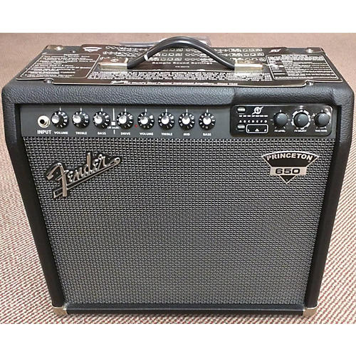 used fender princeton 650 dsp guitar combo amp guitar center rh guitarcenter com
