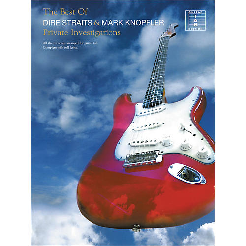 Hal Leonard Private Investigations - The Best Of Dire Straits And Mark Knopfler Tab Book