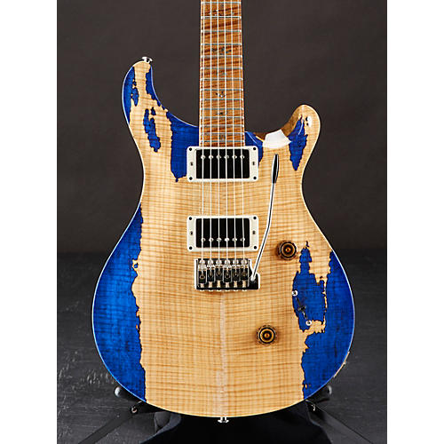 PRS Private Stock Custom 24 with Spalted Maple Top, Black Limba Back, Roasted Curly Maple Neck and Fretboard Electric Guitar