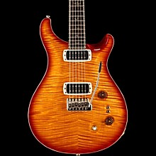 PRS Private Stock Paul's Guitar Curly Maple Top and African Blackwood Neck Electric Guitar Persimmon with Cherry Smoked Burst
