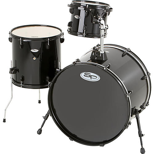 Sound Percussion Labs Pro 3-Piece Double Bass Add-On Pack (Black Hoops and Lugs)