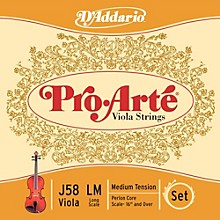 D'Addario Pro-Art Series Viola String Set