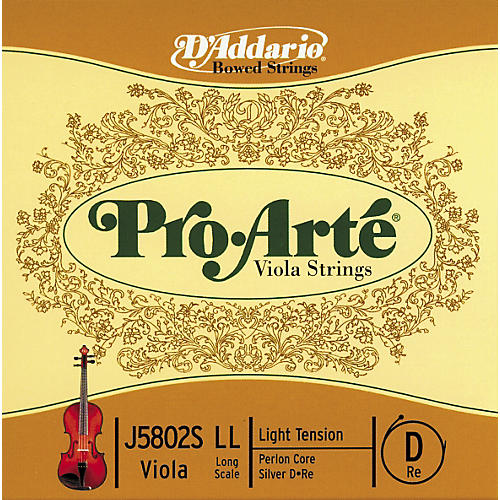 D'Addario Pro Arte Viola Strings