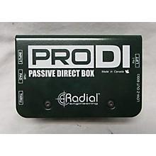 Radial Engineering Pro Direct Box DI Direct Box
