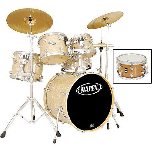 5253422a4c27 Mapex Pro M 5-Piece Fusion Drum Set with Free Snare
