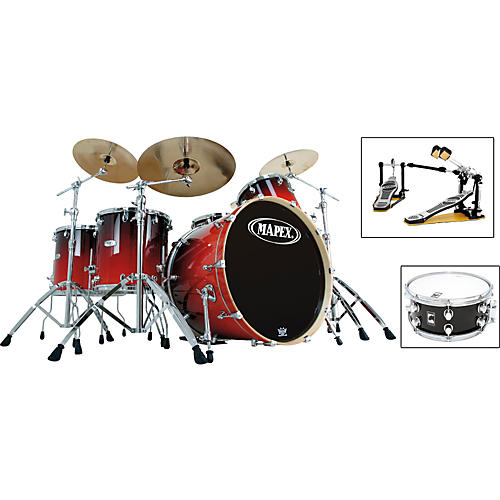 Mapex Pro M 5 Piece Rock Drum Set With Free Snare Guitar Center