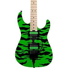 Pro-Mod DK Signature Satchel Electric Guitar Slime Green Bengal
