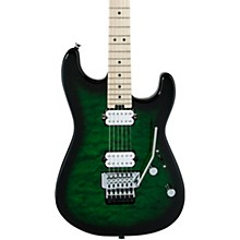 Pro Mod San Dimas Style 1 2H FR Electric Guitar Transparent Green Burst