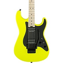 Pro Mod So Cal Style 1 2H FR Electric Guitar Level 2 Neon Yellow 190839286680