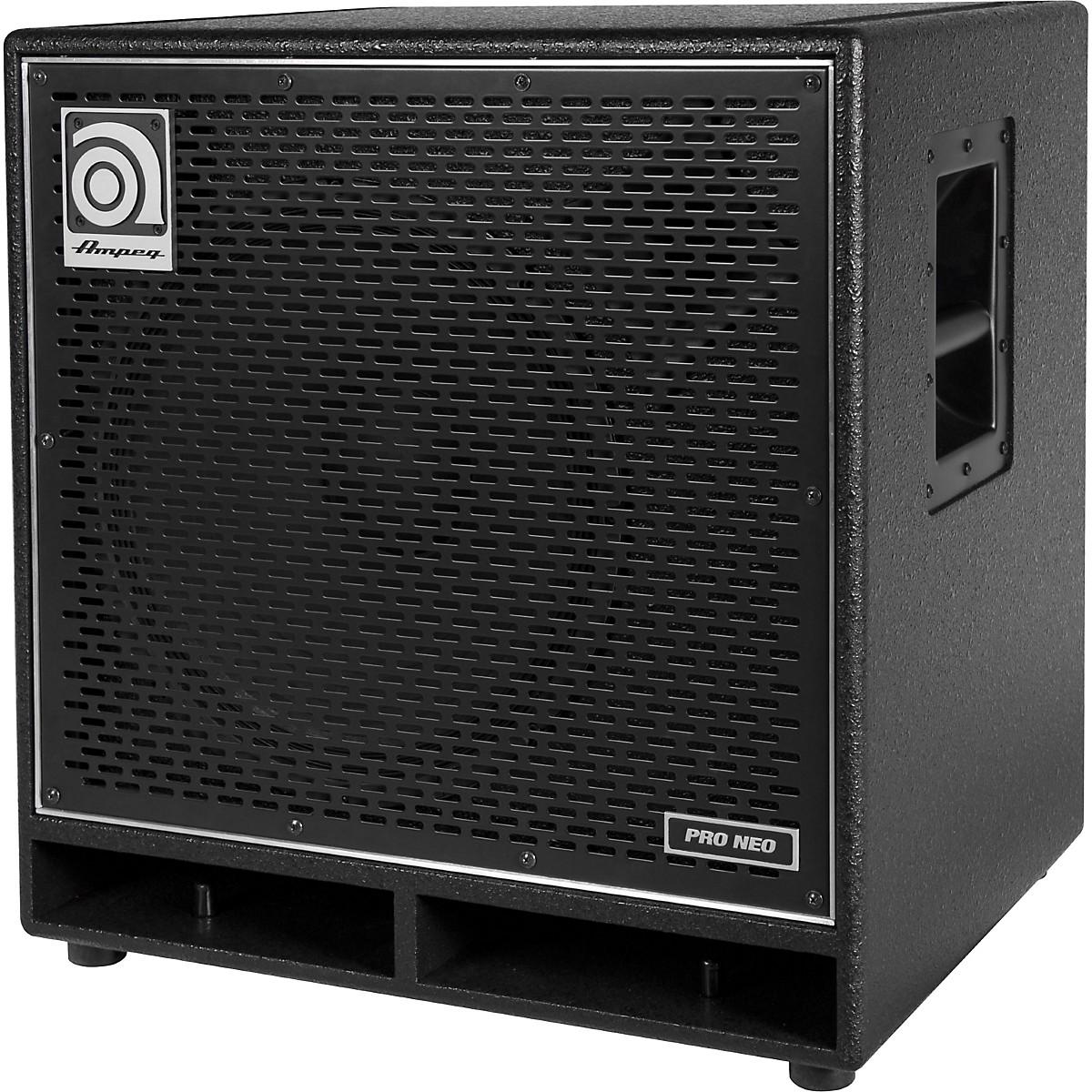 Ampeg Pro Neo Series PN-115HLF 575W 1x15 Bass Speaker Cabinet