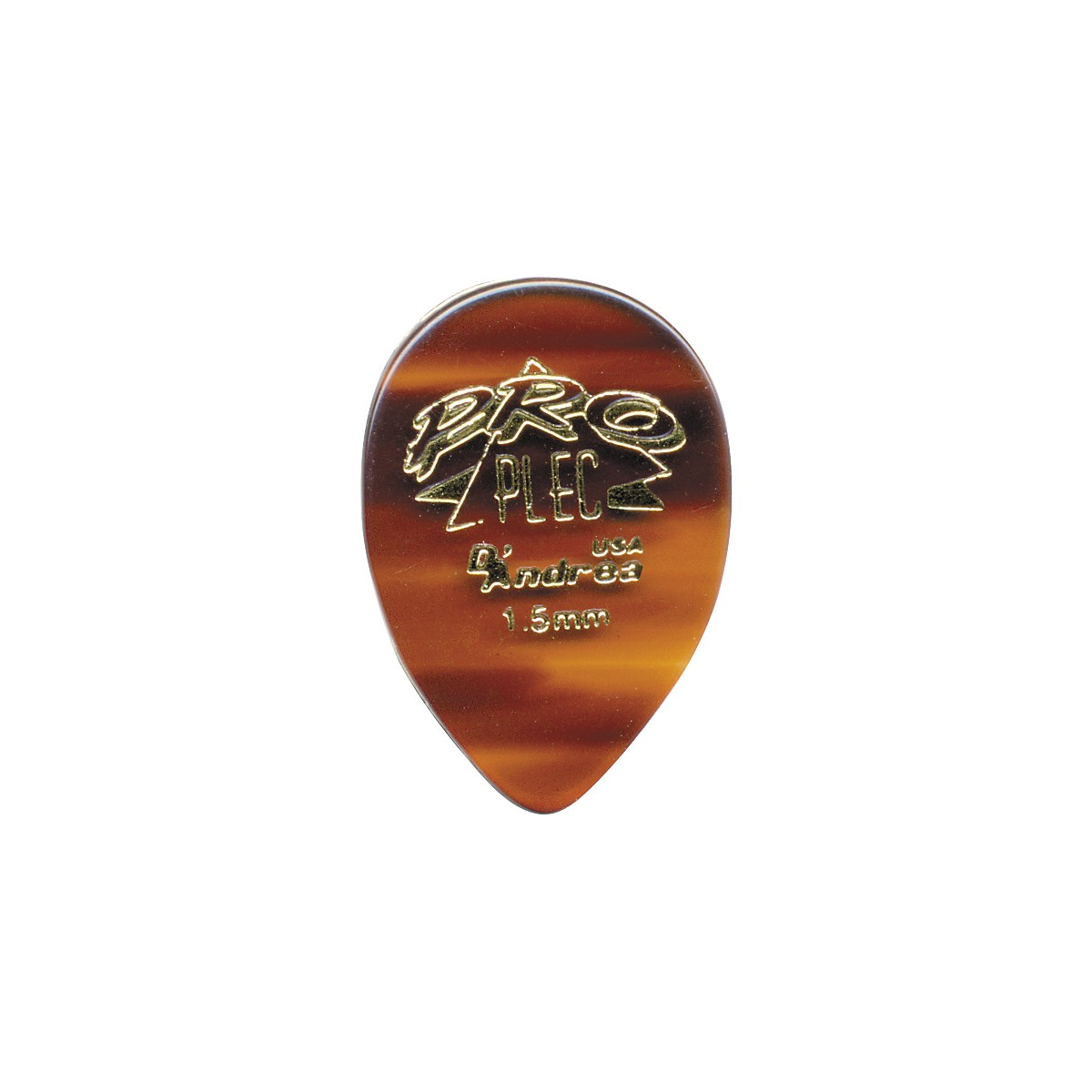 D'Andrea Pro Plec Guitar Picks Small Pointed Teardrop - One Dozen