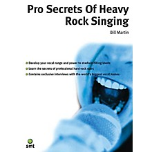 Music Sales Pro Secrets of Heavy Rock Singing Music Sales America Series