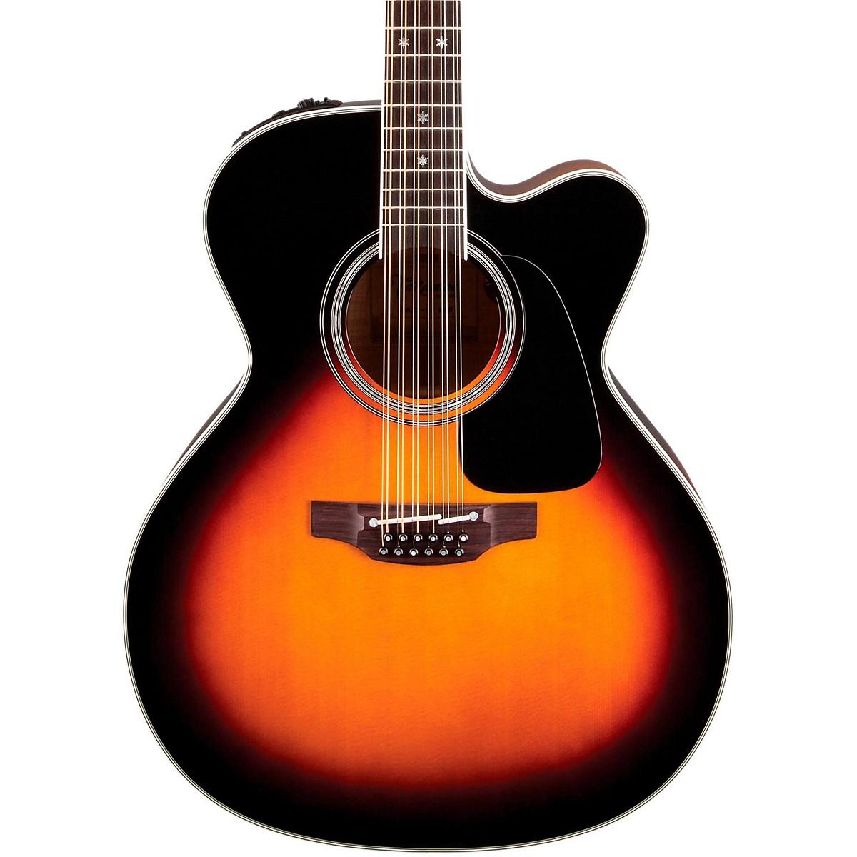 Takamine Pro Series 6 Jumbo Cutaway 12-String Acoustic-Electric Guitar