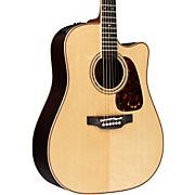 Pro Series 7 Dreadnought Cutaway Acoustic-Electric Guitar Natural