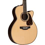 Pro Series 7 NEX Cutaway Acoustic-Electric Guitar Natural