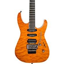 Pro Series Soloist SL3Q MAH Electric Guitar Dark Amber