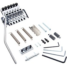 Floyd Rose Pro Series Tremolo Bridge with R2 Nut Level 1 Chrome