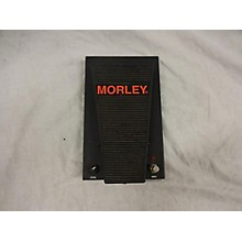 Morley Pro Series Wah (PSW) Effect Pedal