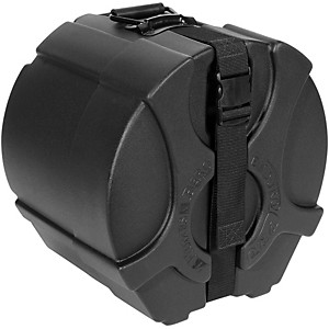 Humes and Berg Pro Tom Drum Case with Foam Black 13X9 inch by Humes & Berg