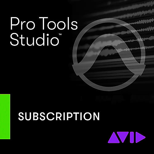 Avid Pro Tools 1-Year Subscription + Update/Support (Download)