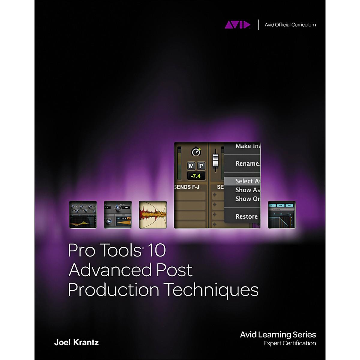 Course Technology PTR Pro Tools 10 Advanced Post Production Techniques Book/DVD
