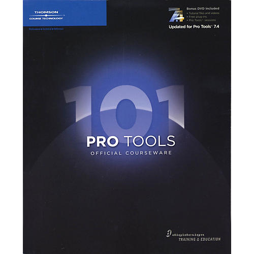 Course Technology PTR Pro Tools 101 Official Courseware Second Edition (Book/DVD)