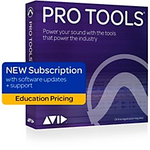 Avid Pro Tools 2018 Annual Subscription for Students/Teachers (Boxed)