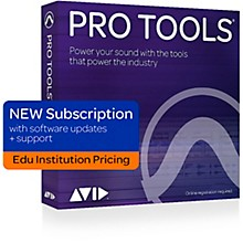 Avid Pro Tools 2018 Software for Educational Institutions Annual Subscription (Boxed)