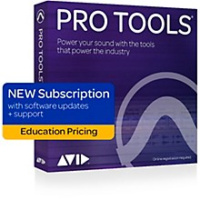 Avid Pro Tools 2018 with 1-Year of Updates + Support Plan Teachers/College Student 1-Year Subscription (Boxed)
