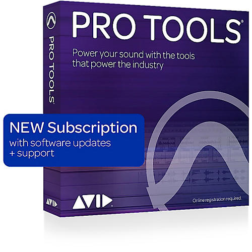 Avid Pro Tools Annual Subscription (1 Year)