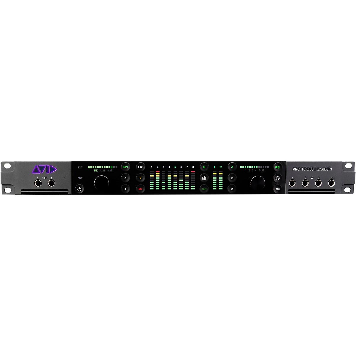 Avid Pro Tools | Carbon Hybrid Ethernet Audio Interface