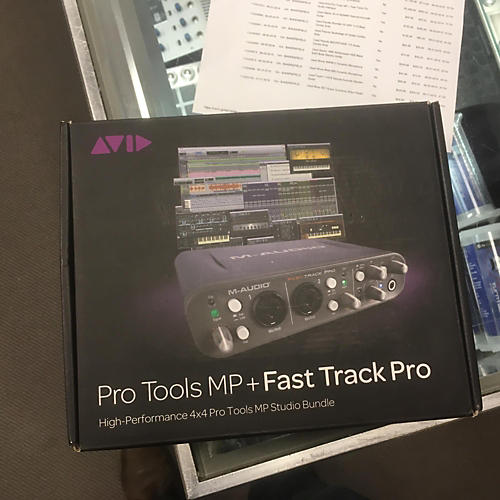 Avid Pro Tools MP + Fast Track Pro Audio Interface