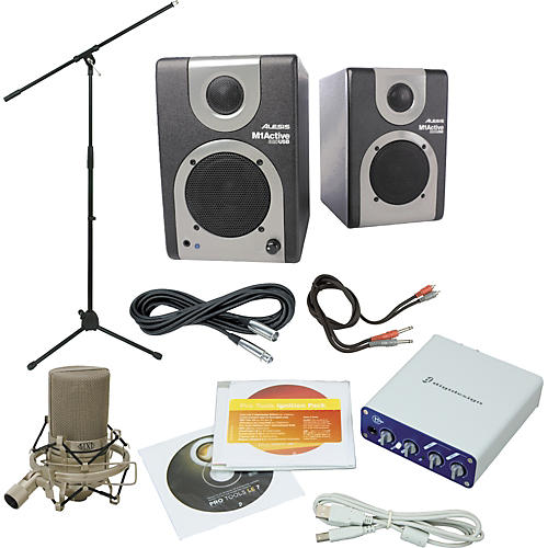 digidesign pro tools mbox mini package guitar center. Black Bedroom Furniture Sets. Home Design Ideas