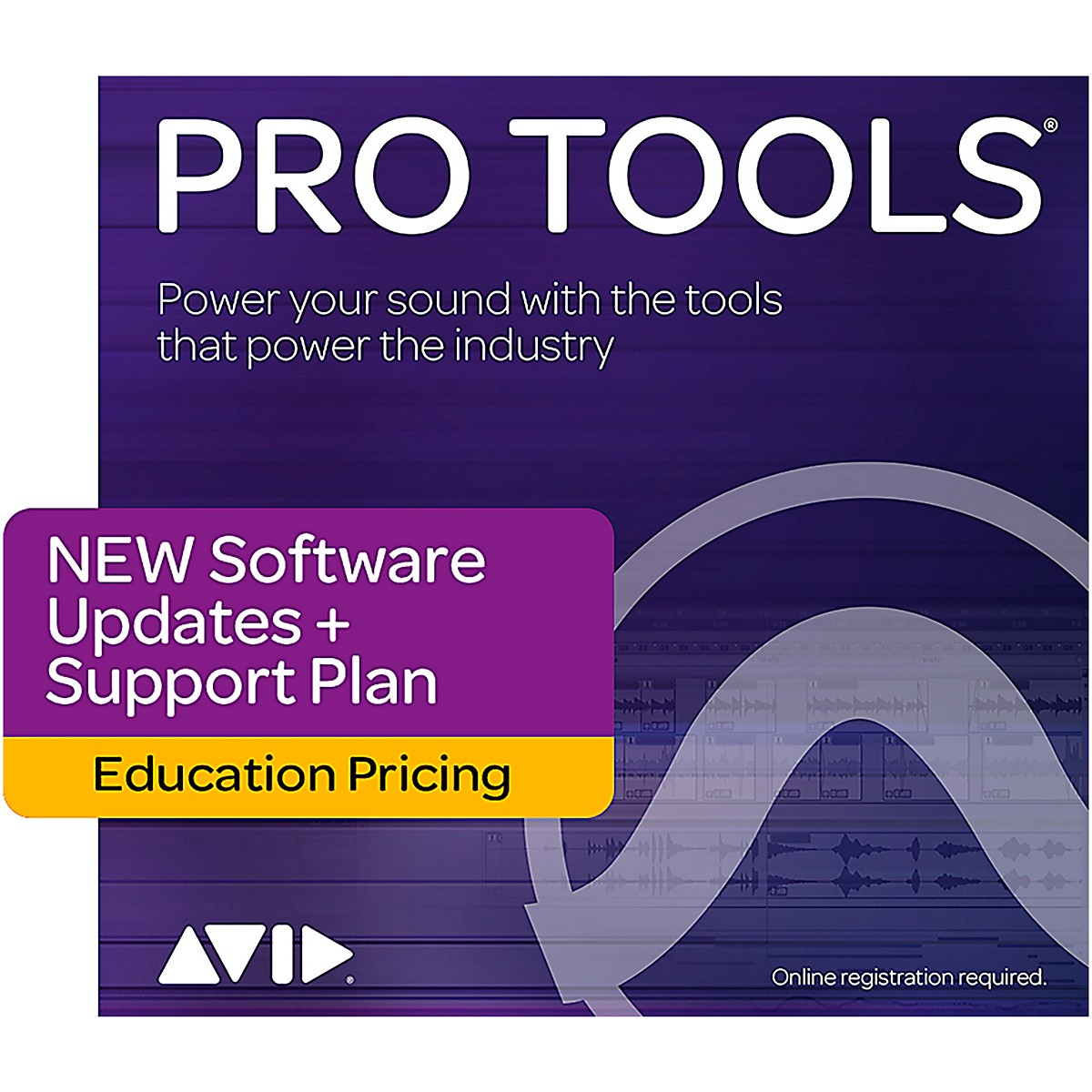 Avid Pro Tools NEW 1-Year of Updates + Support for Students/Teachers Perpetual License (Download)