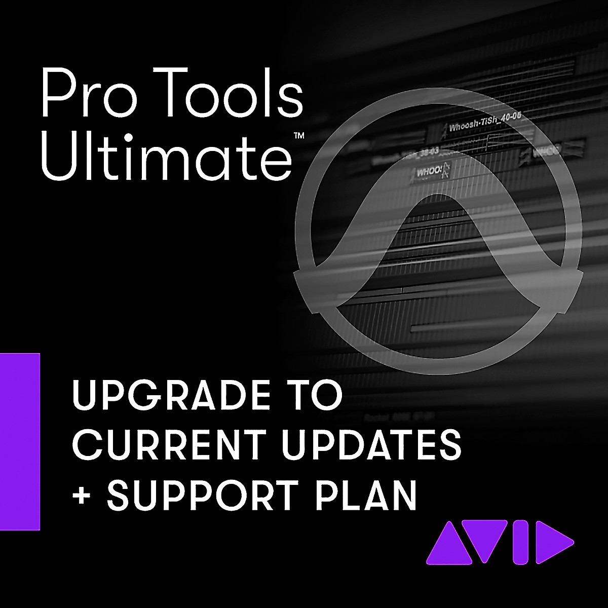Avid Pro Tools Ultimate 1-Year Software Updates + Support Plan NEW (Download)
