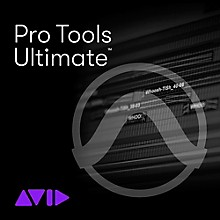 Avid Pro Tools | Ultimate with 1-Year of Updates + Support Plan - Upgrade from Pro Tools 11 or Higher (Download)