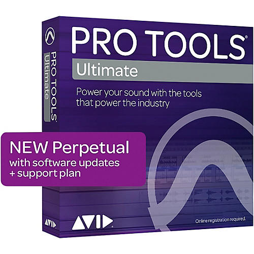 Avid Pro Tools | Ultimate with 1-Year of Updates + Support Plan Perpetual License (Download)
