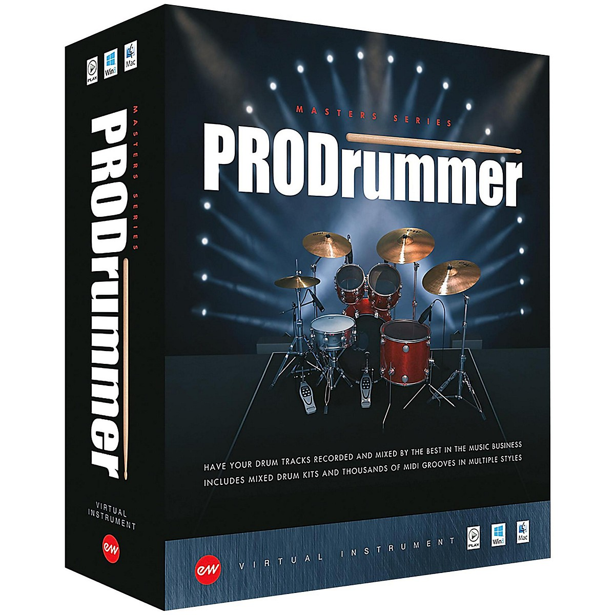 EastWest ProDrummer 1 - By  Mark