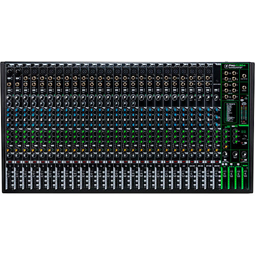 Mackie ProFX30v3 30-Channel 4-Bus Professional Effects Mixer with USB