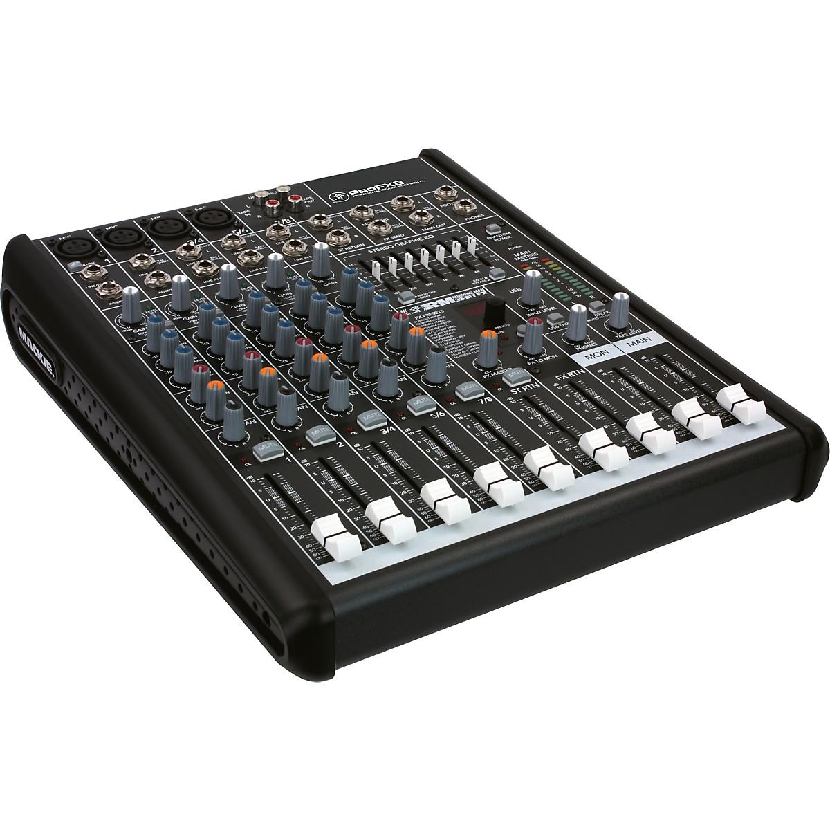Mackie ProFX8 Professional Compact Mixer