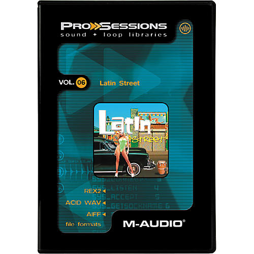M-Audio ProSessions-Vol 6 Latin Street