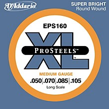 D'Addario ProSteels EPS160 Medium Gauge Long Scale Bass Strings