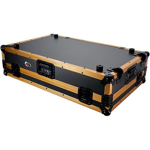 ProX ProX Case fits DDJ-1000, DDJ-SX, FLX6 and MC7000 with Gold Aluminum Frame