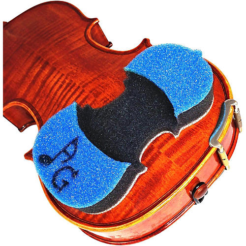 AcoustaGrip Prodigy Blue Violin and Viola Shoulder Rest