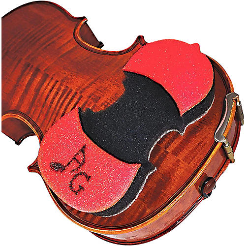 AcoustaGrip Prodigy Red Violin and Viola Shoulder Rest