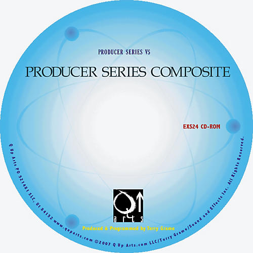 Q Up Arts Producer Series Composite V5 KONTAKT CD-ROM