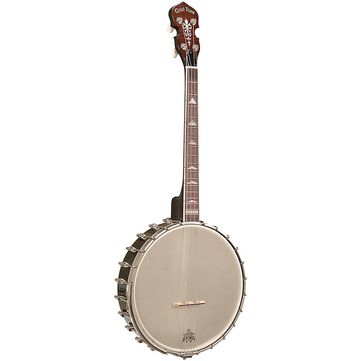 Gold Tone Professional 4-String Irish Tenor Openback Banjo For Left Hand Players