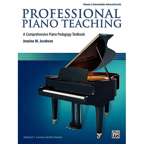 Alfred Professional Piano Teaching, Volume 2 - Intermediate / Advanced