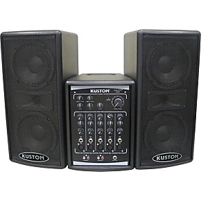 kustom pa profile 200 portable pa system guitar center. Black Bedroom Furniture Sets. Home Design Ideas