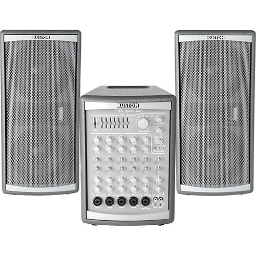 Kustom Profile Two 300W PA System with Roller Bag
